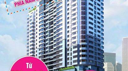 Phối cảnh chung cư South Tower Hoàng Liệt