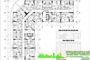 Mặt bằng chung cư CT1 B32