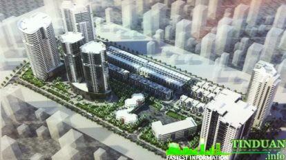 Phối cảnh tổng thể dự án Nhà ở bộ tư lệnh Quân Khu Thủ Đô