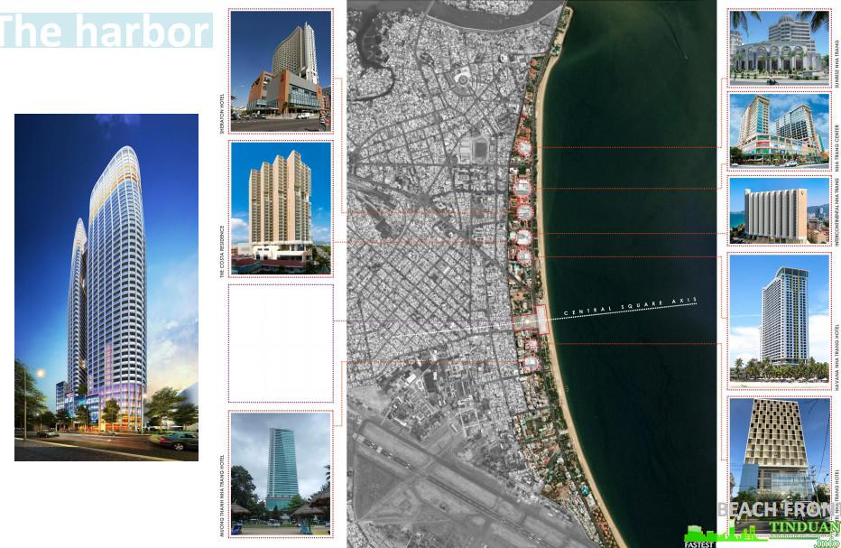 Vị trí dự án The Harbor View Condotel Nha Trang