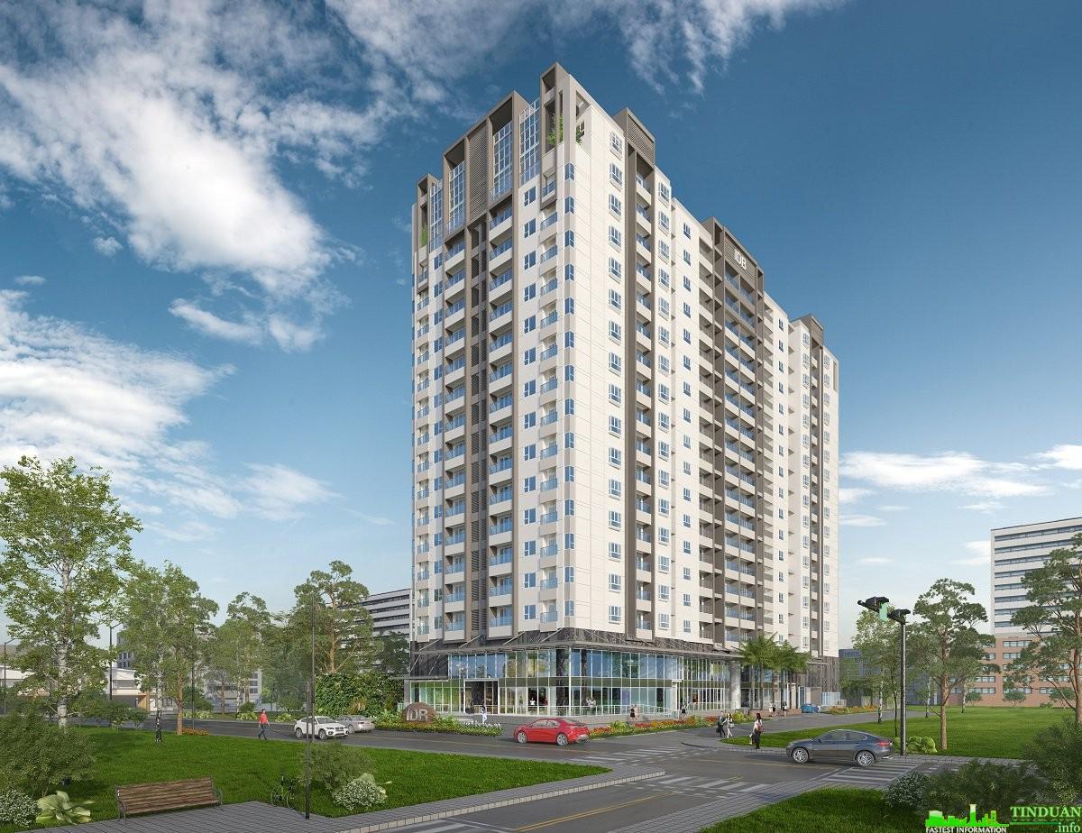 Phối cảnh chung cư IDB Việt Nam Complex
