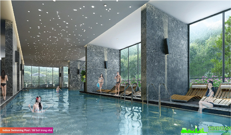 Bể bơi bốn mùa trong nhà Seasons Avenue