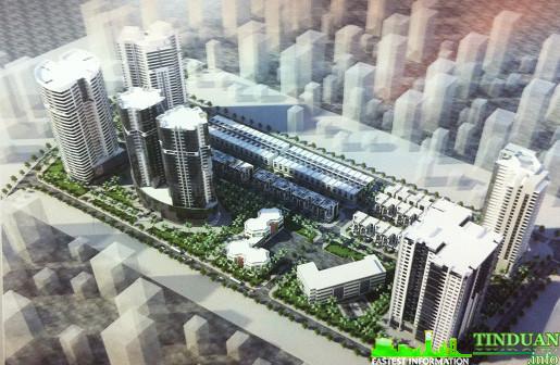 Phối cảnh tổng thể dự án CT3 Yên Nghĩa
