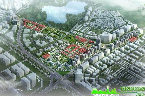 Phối cảnh quần thể khu đô thị Kiến Hưng Hà Đông