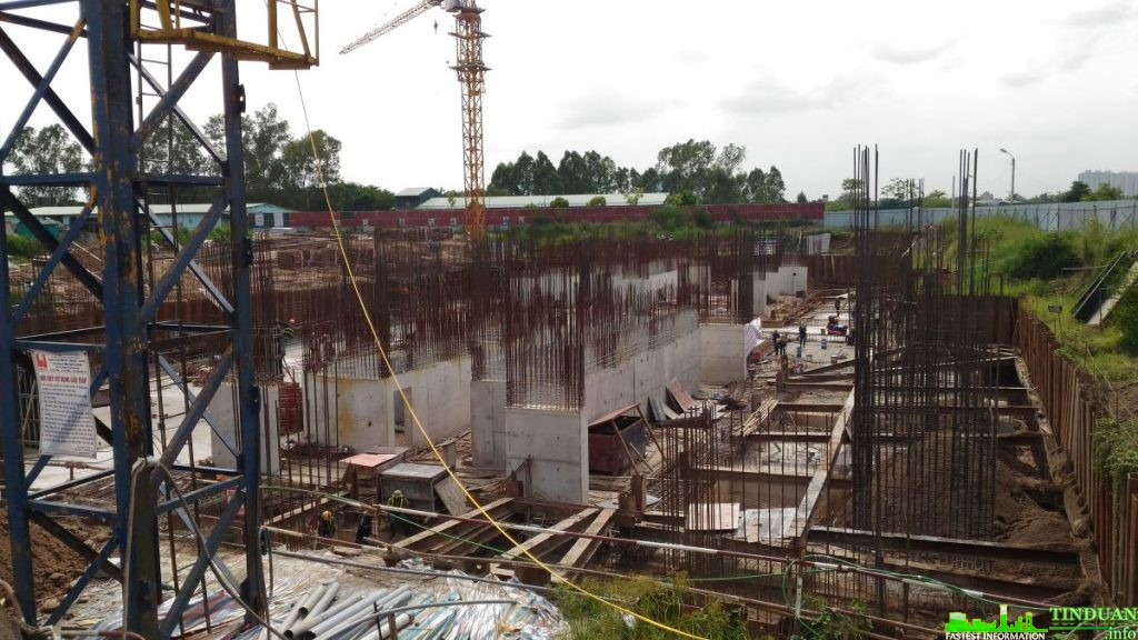 Dự án Chung cư Osaka Complex hiện đã thi công xong phần móng