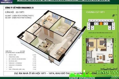 Phối cảnh 3D căn hộ số 22