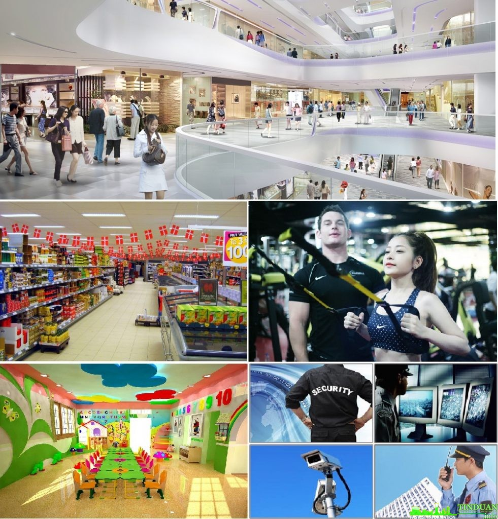 Tiện ích chung cư Oriental Plaza 16 Láng Hạ