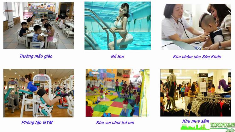 Tiện ích 5 sao của chung cư BRG Park Residence Lê Văn Lương