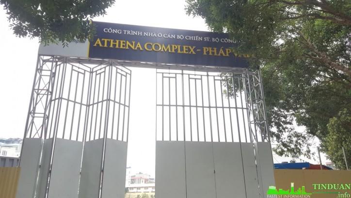 Tiến độ dự án Athena Complex Pháp Vân