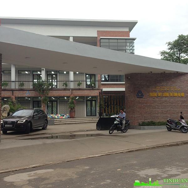 Trường PTTH Lương Thế Vinh liền kề tổng cục 5 Tân Triều