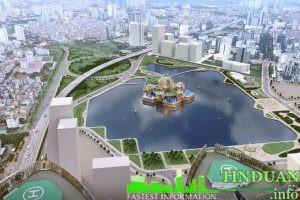 Phối cảnh công viên Yên Hòa