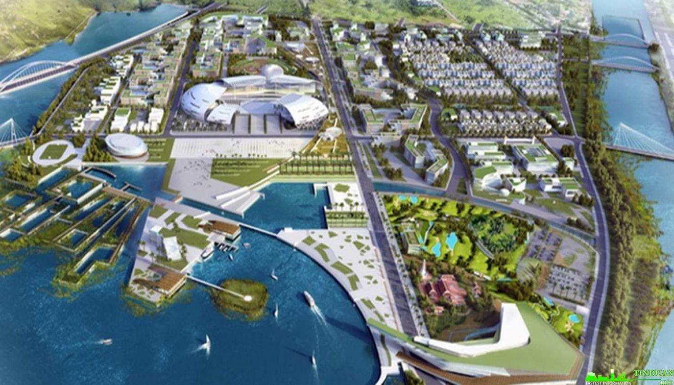 Mô hình quy hoạch Bắc Vân Phong