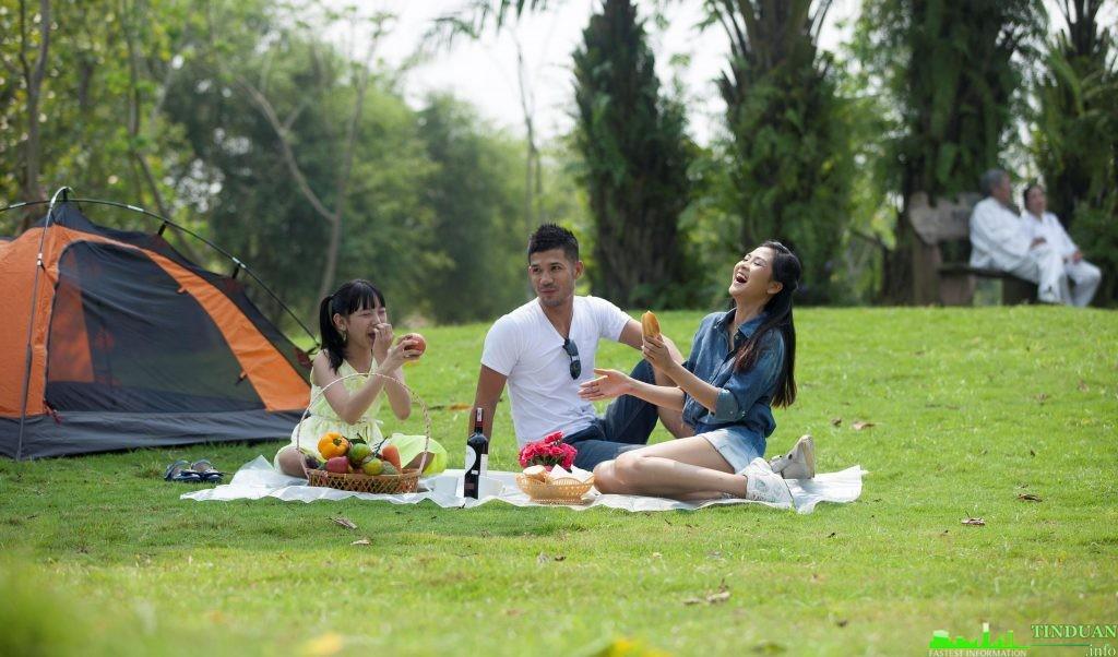 Phối cảnh công viên trung tâm Long Việt Riverside