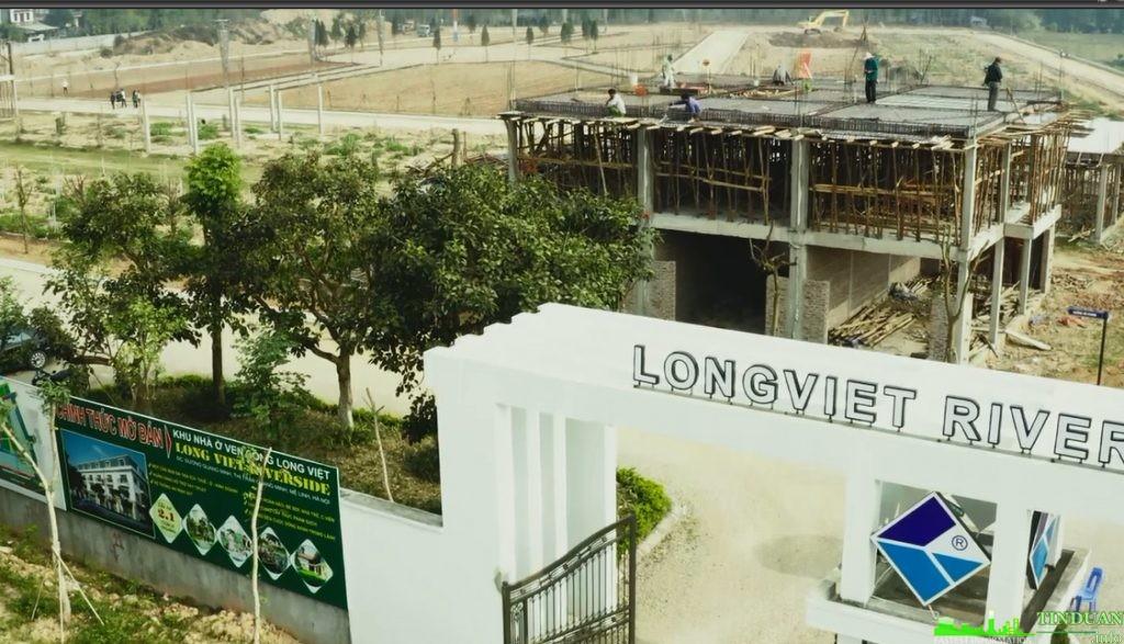 Tiến độ dự án Long Việt Riverside