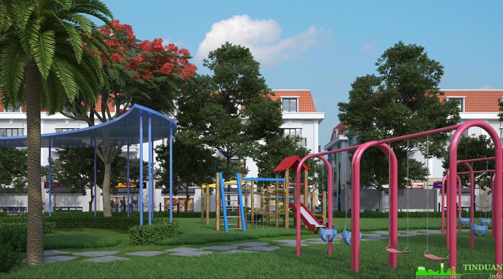 Khu vui chơi trẻ em Dự án 319 Đông Anh