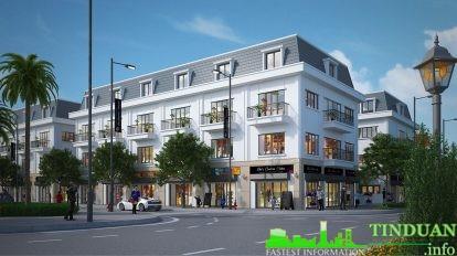 Phối cảnh shophouse Long Việt Riverside