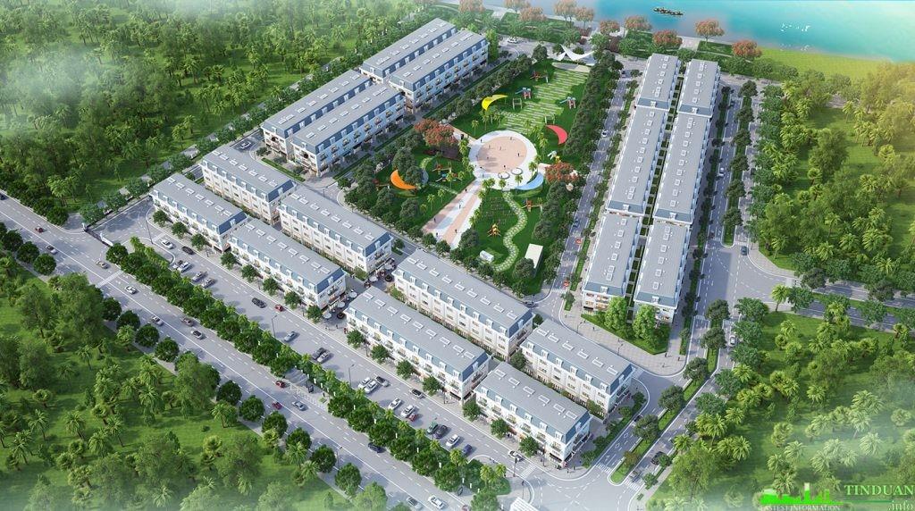 Phối cảnh tổng thể dự án Long Việt Riverside