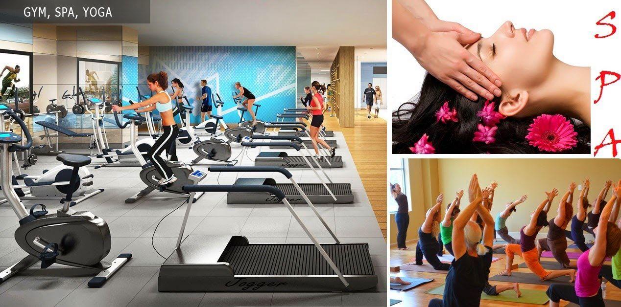 Khu tập Gym, Spa tại dự án 319 Cổ Loa Uy Nỗ Đông Anh