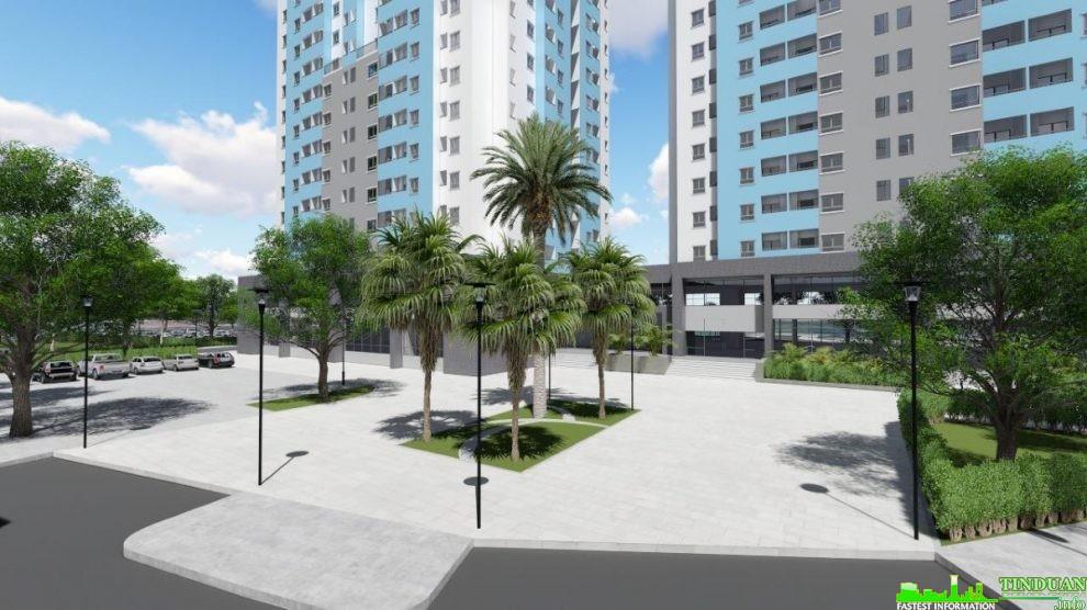 Phối cảnh mặt trước dự án Osaka Complex
