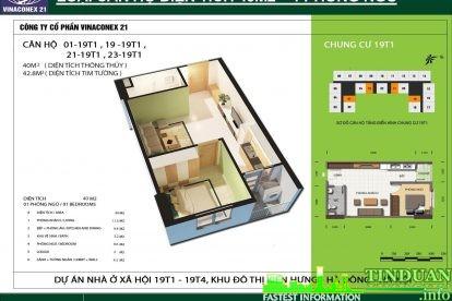 Phối cảnh 3D căn hộ số 01, 19, 21 và 23