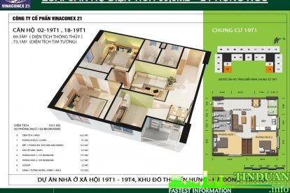 Phối cảnh 3D căn hộ số 02 và 18