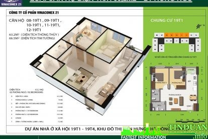 Phối cảnh 3D căn hộ số 08, 09, 10, 11 và 12