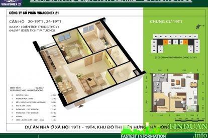 Phối cảnh 3D căn hộ số 20 và 24