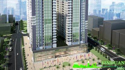 Phối cảnh chung cư Oriental Plaza 16 Láng Hạ