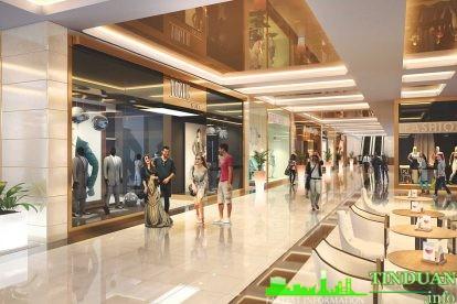 Phối cảnh Trung tâm thương mại Athena Complex Pháp Vân