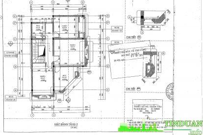 Mặt bằng căn hộ mẫu tầng 2