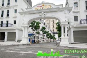 Cổng chào Belleville B4 Nam Trung Yên