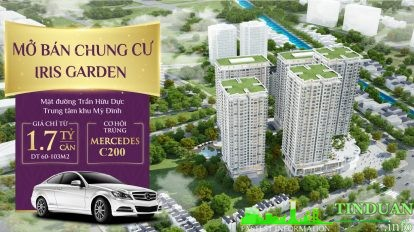 Chung cư Iris Garden Mỹ Đình