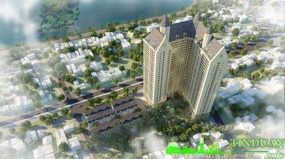 Phối cảnh dự án Shophouse Aurora Garden 727 Tam Trinh